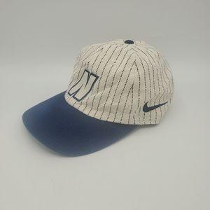 Vtg 90s Pin Strip Nike Adjustable Hat